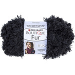 Red Heart Boutique Fur Yarn - Slate