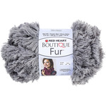 Smoke - Red Heart Boutique Fur Yarn