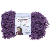 Eggplant - Red Heart Boutique Fur Yarn