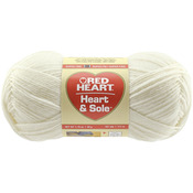 Ivory - Red Heart Heart & Sole Yarn