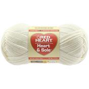 Ivory - Red Heart Heart & Sole Yarn