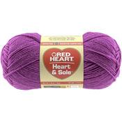 Fuchsia - Red Heart Heart & Sole Yarn