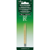 Size 3/3.25mm - Takumi Bamboo Interchangeable Circular Knitting Needles