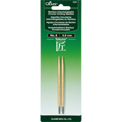 Size 6/4mm - Takumi Bamboo Interchangeable Circular Knitting Needles