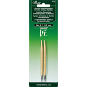 Size 9/5.5mm - Takumi Bamboo Interchangeable Circular Knitting Needles