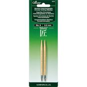 Size 9/5.5mm - Takumi Bamboo Interchangeable Circular Knitting Needles
