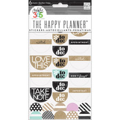 The Happy Planner Stickers - Love This Neutral