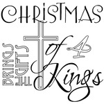 Christmas Of 4 Kings - Gourmet Rubber Stamps Cling Stamps