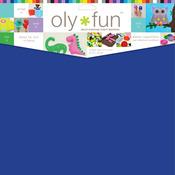 "Blueberry - Oly Fun Multipurpose Craft Material 12""X12"" 3/Pkg"