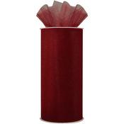 "Wine - Shiny Tulle 6""X25yd Spool"