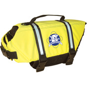Paws Aboard Doggy Life Jacket Large - Safety Neon Yellow