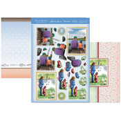 Boys' Day Out & Feeding The Ducks - Fun In The Sun Luxury Decoupage Set A4