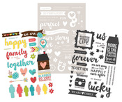 We Are Family 4 x 6 Photo Stickers - Simple Stories