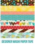 We Are Family Washi Paper Tape - Simple Stories