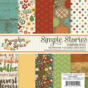 Pumpkin Spice 6 x 6 Paper Pad - Simple Stories