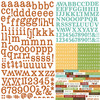 Pumpkin Spice Expressions Cardstock Stickers - Simple Stories