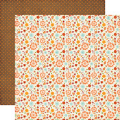 Fall Small Floral Paper - The Story Of Fall - Echo Park