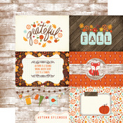 Journaling Cards 4 x 6 Paper - The Story Of Fall - Echo Park