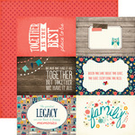 Journaling Cards 4 x 6 Paper - The Story Of Our Family - Echo Park