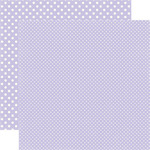 Frosted Amethyst Paper - Dots & Stripes Winter - Echo Park