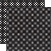 Black Paper - Dots & Stripes Valentine - Echo Park