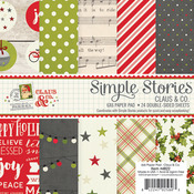 Claus & Co Double-Sided 6x6 Paper Pad - Simple Stories