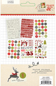 Claus & Co. Stickers Sheets - Simple Stories