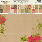 Tidings 12 x 12 Paper Pad - Authentique