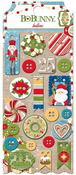 Dear Santa Buttons - Bo Bunny
