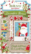 Dear Santa Layered Chipboard - Bo Bunny