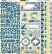Genevieve Combo Sticker Sheet - Bo Bunny
