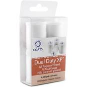White 4/Pkg - Dual Duty XP All Purpose Thread 250yd Spools