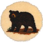 "Bear - Latch Hook Kit 18"" Round"