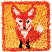 "Little Fox - Wonderart Latch Hook Kit 12""X12"""