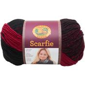 Cranberry/Black - Scarfie Yarn