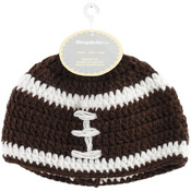 Football - Crocheted Hats For Babies