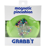 Lime - Grabbit Magnetic Pincushion W/50 Pins