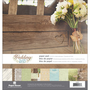 Wedding Day Double-Sided Paper Pad - Paper House