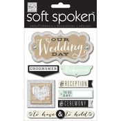 Whole Heart Wedding - Soft Spoken Themed Embellishments