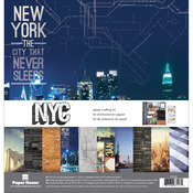 """New York City - Paper House Paper Crafting Kit 12""""X12"""""""
