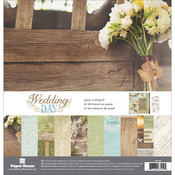 "Wedding Day - Paper House Paper Crafting Kit 12""X12"""