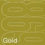 "Gold - Permanent Adhesive Vinyl Numbers 4"" 49/Pkg"
