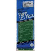 "Green - Permanent Adhesive Vinyl Numbers 4"" 49/Pkg"