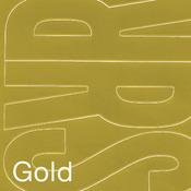 """Gold - Permanent Adhesive Vinyl Letters 4"""" 95/Pkg"""