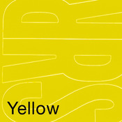 "Yellow - Permanent Adhesive Vinyl Letters 6"" 94/Pkg"
