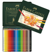 Polychromos Colored Pencil Set In Metal Tin 24pc
