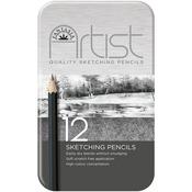 Fantasia Premium Sketching Pencil Set 12pc