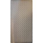 """Chain Link - Aluminum Metal Sheet 12""""X24"""""""