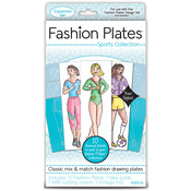 Sports - Fashion Plates Kit