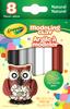 Natural - Crayola Modeling Clay Assortment 8/Pkg